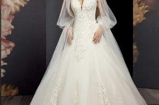 صورة فساتين عرس انيقة، كونى جميله يوم زفافك