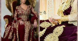 فساتين جزائرية 2020، شاهد اروع موديلات الفساتين الجزائريه 2020